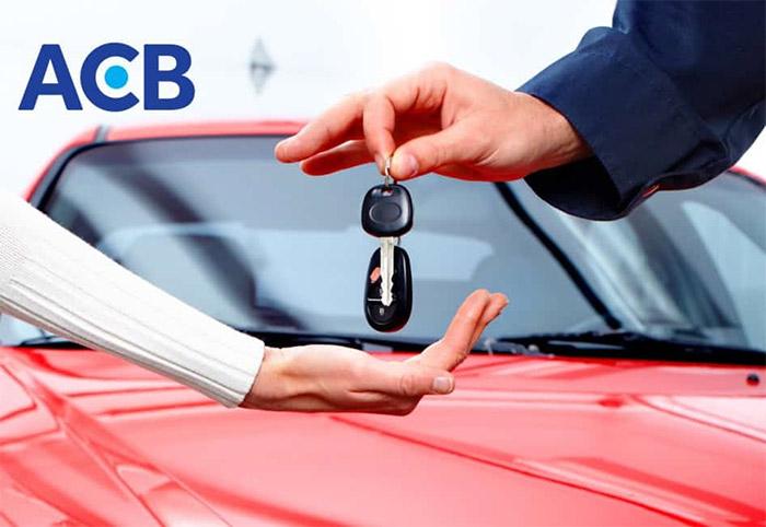 Vay mua ô tô tại ngân hàng ACB