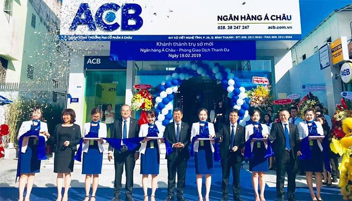 lãi suất vay ngân hàng acb