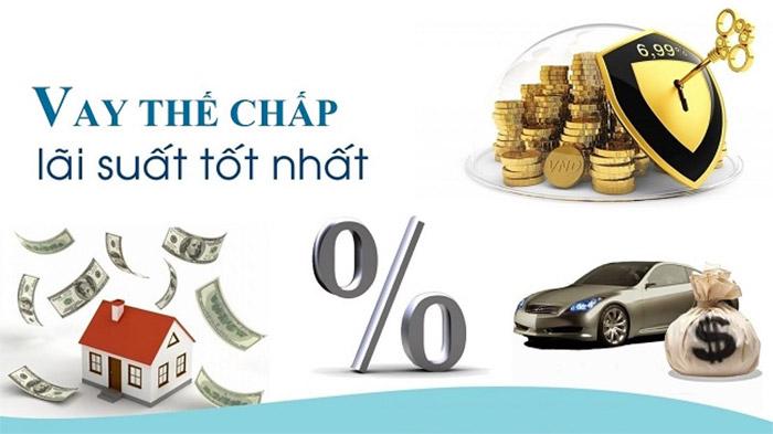 lãi suất vay thế chấp ngân hàng nào thấp nhất