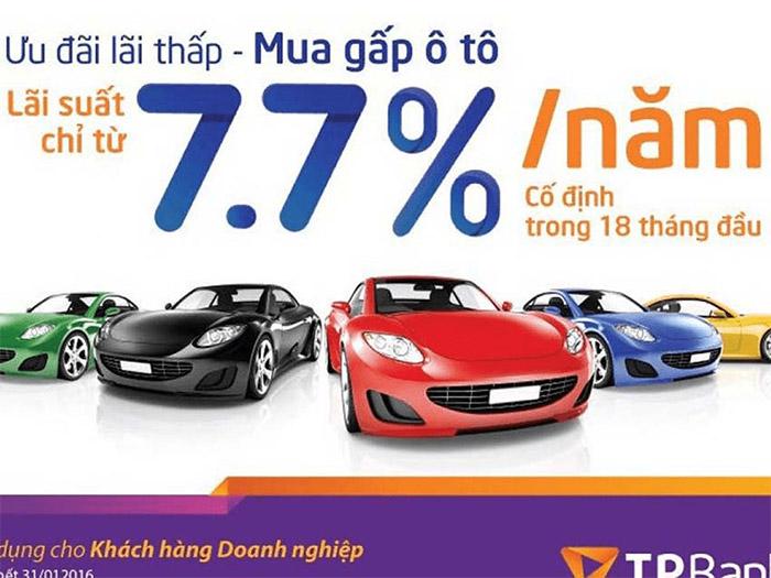 vay TPBank để mua ô tô