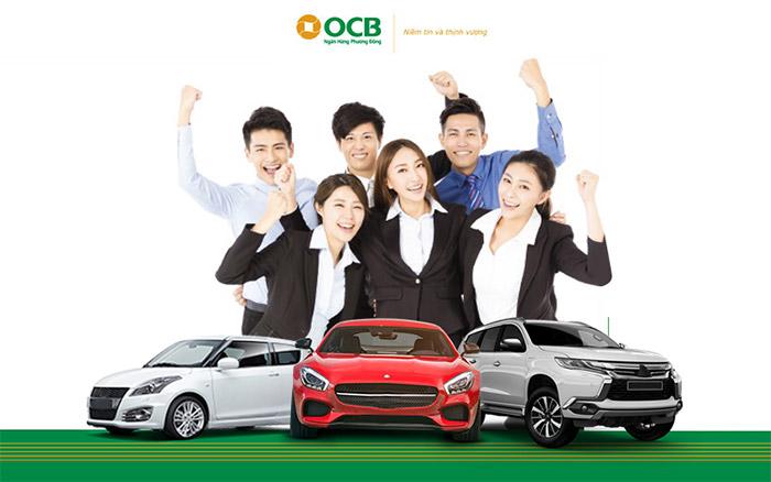 vay mua ô tô tại OCB Bank