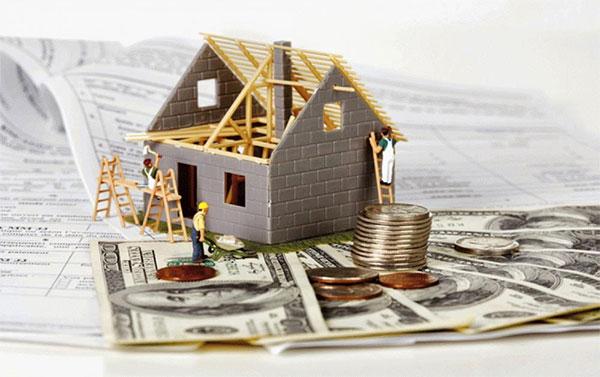 vay tiền xây nhà