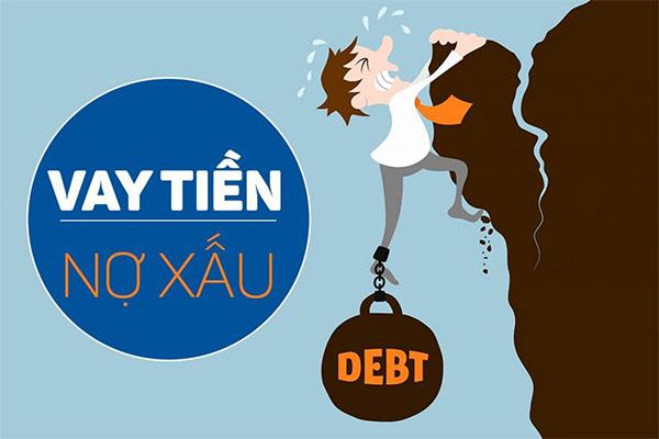 bị nợ xấu có vay được không
