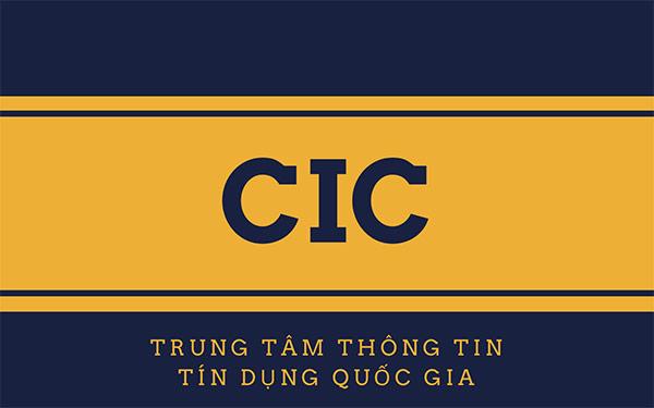 trung tâm thông tin tín dụng quốc gia việt nam CIC